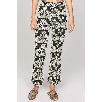 Amuse society black fox pant