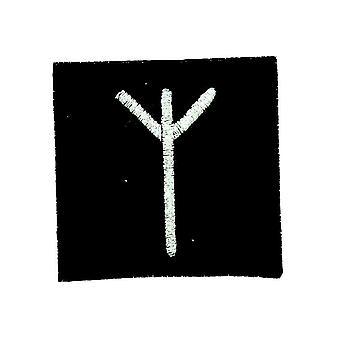 Patch Ecusson Brode Thermocollant Viking Odin Sorcellerie Rune Alphabet Elk