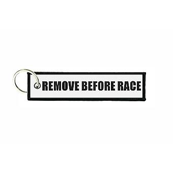 Porte cles aviation keychain moto voiture motard before race r3