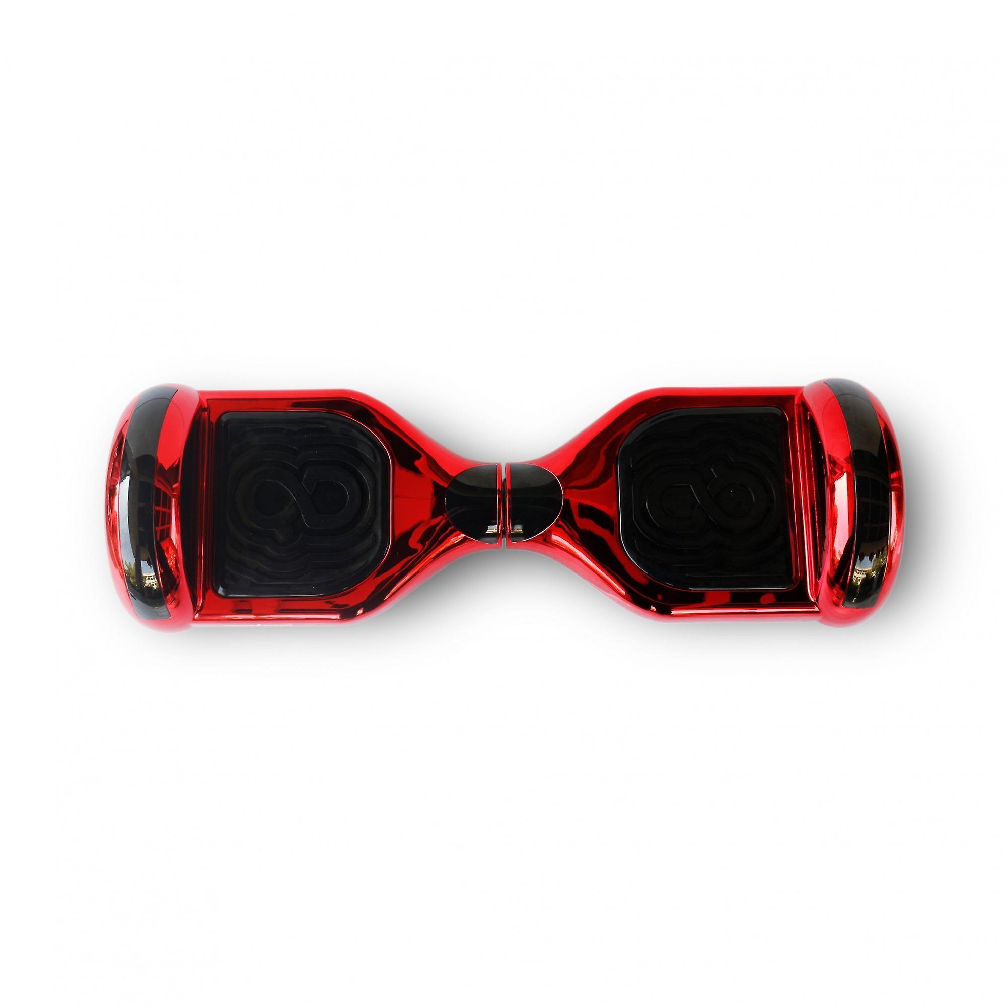 Hoverboard Skateflash K6 Chrome Red Bluetooth + Transport Bag