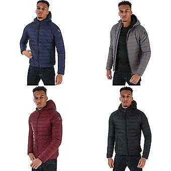 Mens Henleys Mens Carlyon Hooded Puffa Jacket