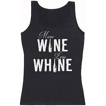 More Wine Less Whine - Womens Tank Top