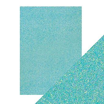 Tonic Studios A4 Craft Perfect Glitter Card, Tropical Tide, 30 x 21.5 x 0.5 cm