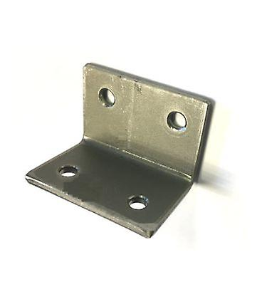 Angle Plate / Bracket T316 Stainless Steel 6 Mm Holes 3 Mm Plate