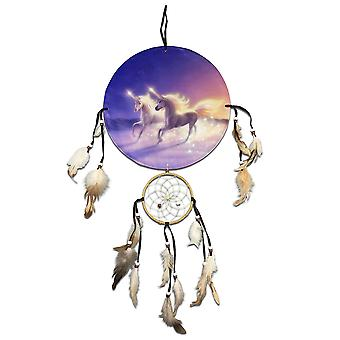 Running Unicorns Dreamcatcher