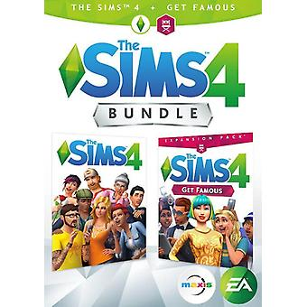 The Sims 4 + Get Famous Bundle Pack PC Game