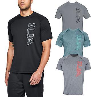 Under Armour Herren UA Tech Grafik SS leichte Anti-Odor-T-Shirt T-Shirt