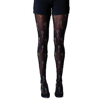 Gipsy Dog & Flower Tights