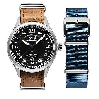 AVI-8 AV-4046-01 Hawker Hurricane Brown Strap Wristwatch