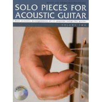 Solo Pieces for Acoustic Guitar  Volume Two Book amp CD by Mark Currey