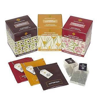Frutas chá seleção tigela de frutas 30 Teabags