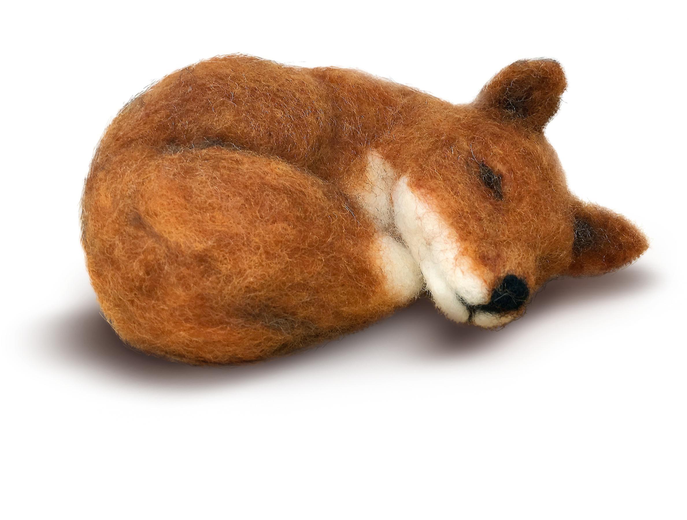 Sömnig Fox nål filtning Kit