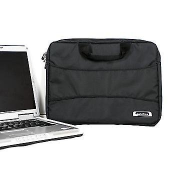 Caribee Laptop Bag Power Tote Black Mini Jacquard