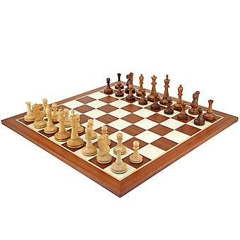 Blackmore Sheesham and Mahogany Chess Set