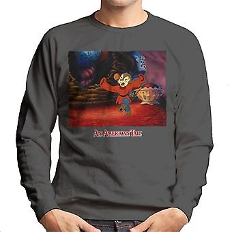An American Tail Fievel Dancing Men's Sweatshirt
