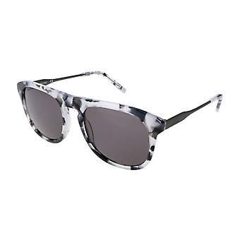 Calvin klein men's okulary przeciwsłoneczne szary ck4320s