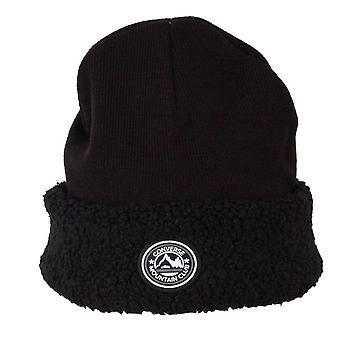 Converse Cuff Beanie ~ Sherpa black black