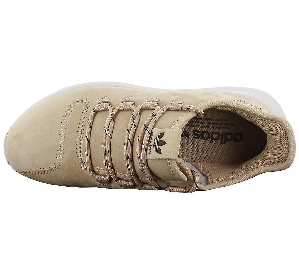 Adidas Tubular Shadow Bb6231 Damen Schuhe Beige Sneakers Sportschuhe