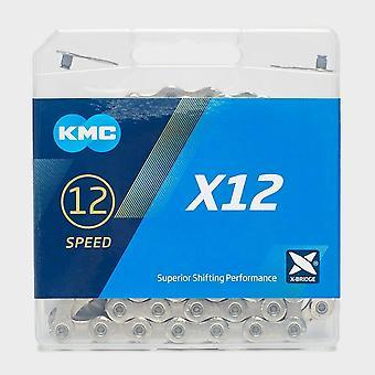 New KMC X12 12 Speed Chain Grey