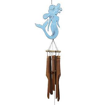 Blu Sirena Bamboo Wind Chime