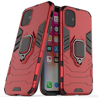 For iPhone 11 Protective Case, Shockproof Armour Case, Red