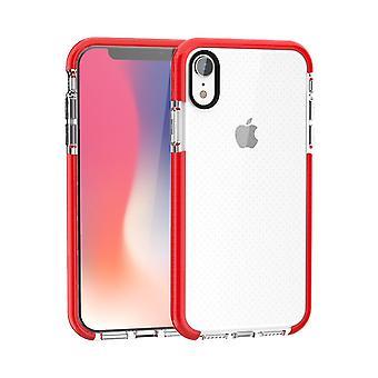 Für iPhone XS & X Fall Red Basketball Textur Rüstung TPU zurück Abdeckung