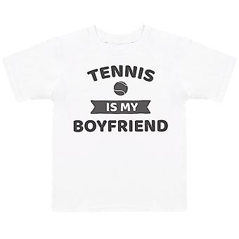 Tennis Is My Boyfriend- Kids T-Shirt