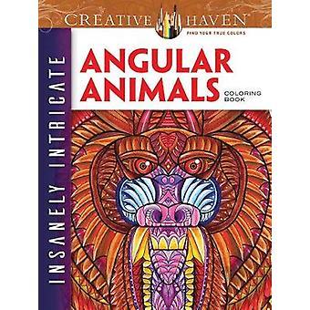 Creative Haven szalenie skomplikowane kątowe zwierzęta kolorowanka przez Connor Martyn