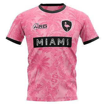 2020-2021 Miami Away Concept Football Shirt - Kids (Long Sleeve)
