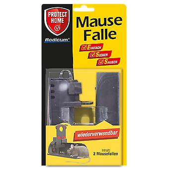 SBM Protect Home Rodicum® Mausefalle, 2 Stück