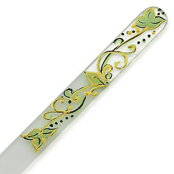 Hand painted glass nail file 303-GM6