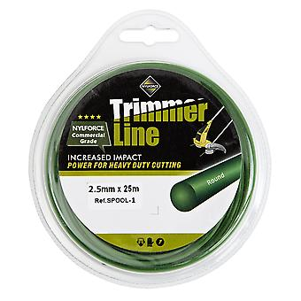 Robuste Nylon 2,5 mm 25m Trimmer Spule Line Draht von Trueshopping