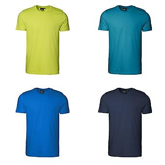 ID Mens T-Time Slimline uitgerust Short Sleeve T-Shirt