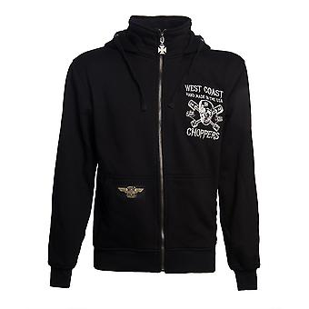 West Coast Choppers Men's Zip Hoodie High Speed