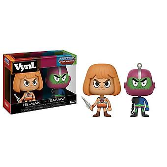 Funko Vynl Masters Of The Universe He-Man & Trap Jaw 2-Pack Collectible Figures