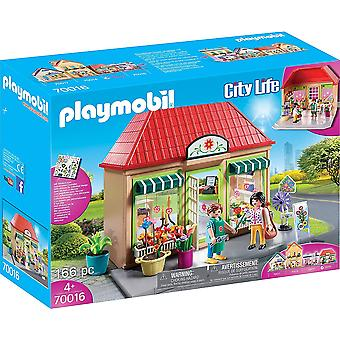 Playmobil 70016 City Life Kukkakauppa 166PC Playset