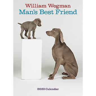 William Wegman Mans Best Friend 2020 Wall Calendar by William Wegman
