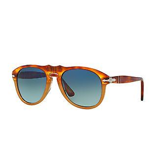 Persol PO0649 1052S3 Madreterra/Blue Gradient Dark Blue Sunglasses
