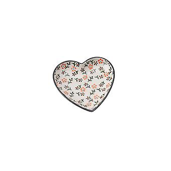 CGB Giftware Floral Heart Dish