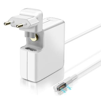 45W MagSafe Wall Charger for MacBook Air Compact Fast Charge- AP-45- LinQ, White