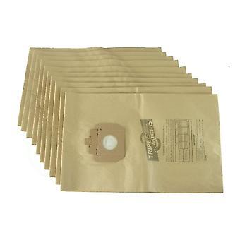 Taski Vento 15 støvsuger papir støv poser x 10