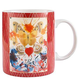 Enesco Dali Butterfly Mug