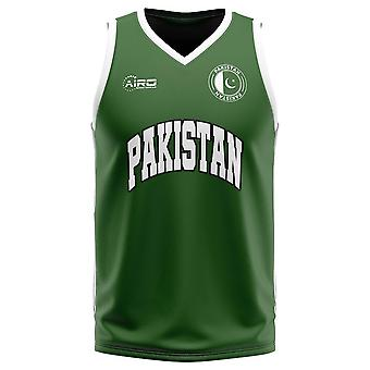 Pakistan Home Concept Basketbal Shirt