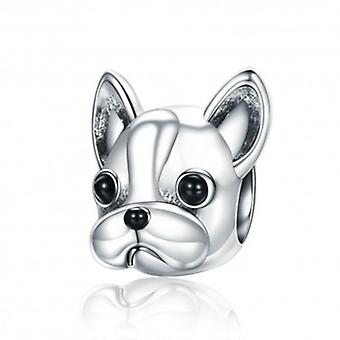 Sterling Silver Charm Cute French Bulldog - 6085