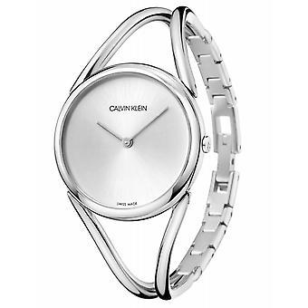 Calvin Klein KBA23126 Women's Lady Silver Tone Wristwatch
