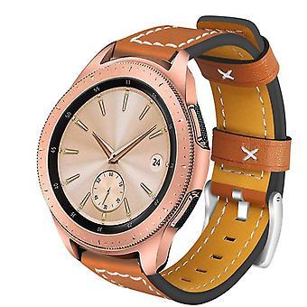 Pulsera smartwatch 20mm Samsung Gear S2/Sport/Galaxy, Garmin - Cuero