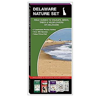 Delaware Nature Set: Field Guides to Wildlife, Birds, Trees & Wildflowers of Delaware