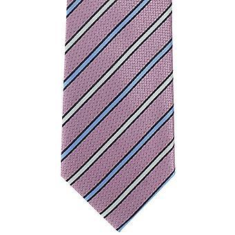 מייקלסון מלונדון אבן פוליאסטר עניבה-ורוד