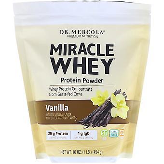 Miracle srvátka-proteín prášok vanilka (454 gram)-Dr Mercola