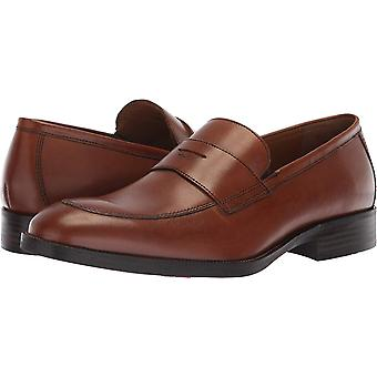 Johnston & Murphy Mens Leather Closed Toe Penny Loafer
